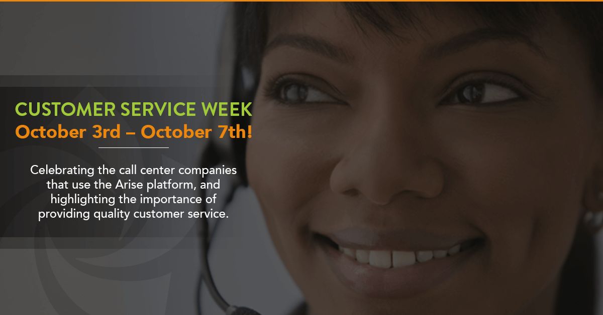 "CUSTOMER SERVICE WEEK – CELEBRATING ""WOW"" SERVICE!"