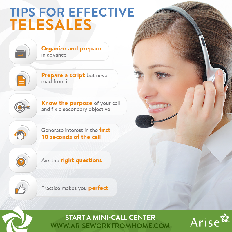 TIPS FOR EFFECTIVE TELESALES