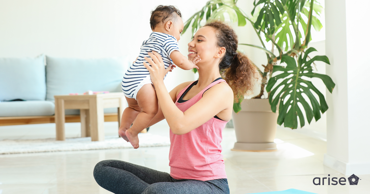 The Best Postpartum Exercise Ideas for Work-From-Home Moms